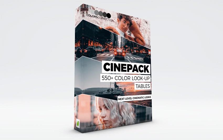 Cinepack - LUT Color Correction Presets