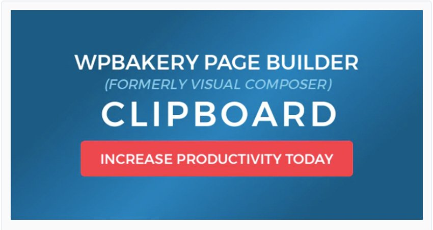 WPBakery Page Builder Clipboard