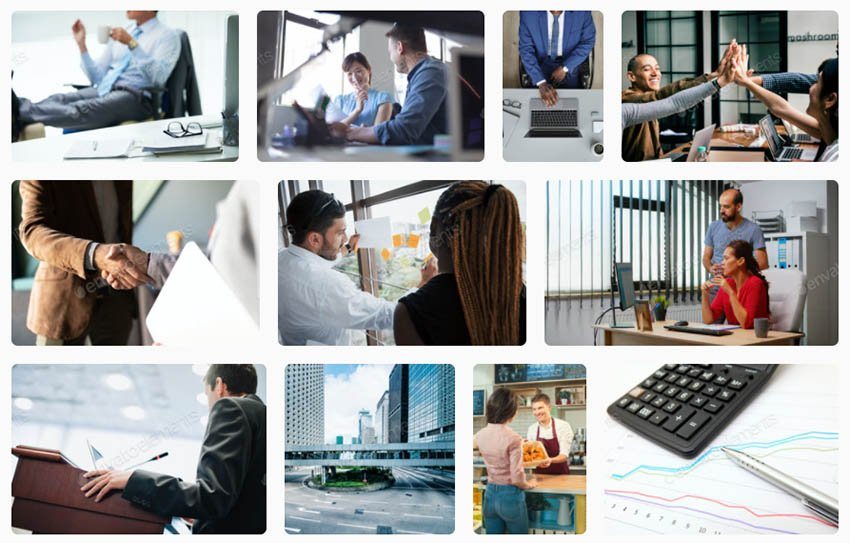 Get the best premium images for your business presentation