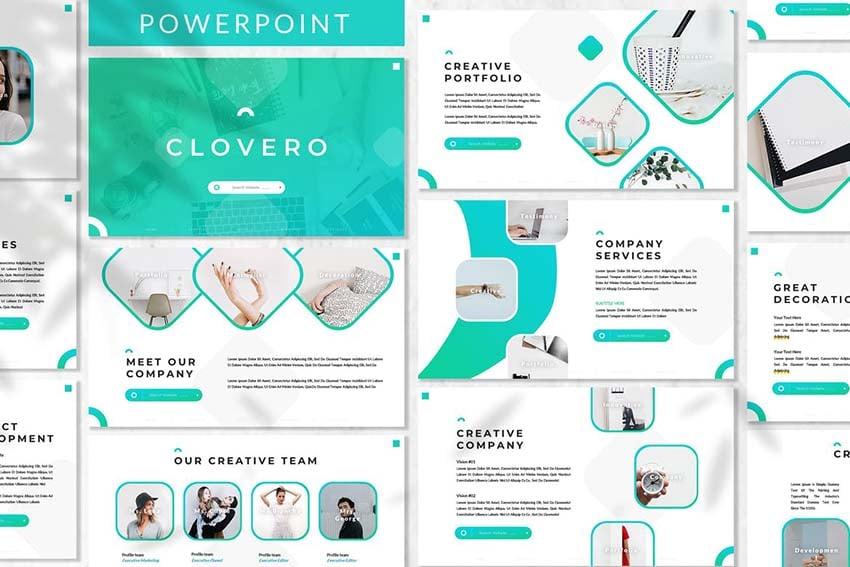 Clovero - Business Powerpoint Template