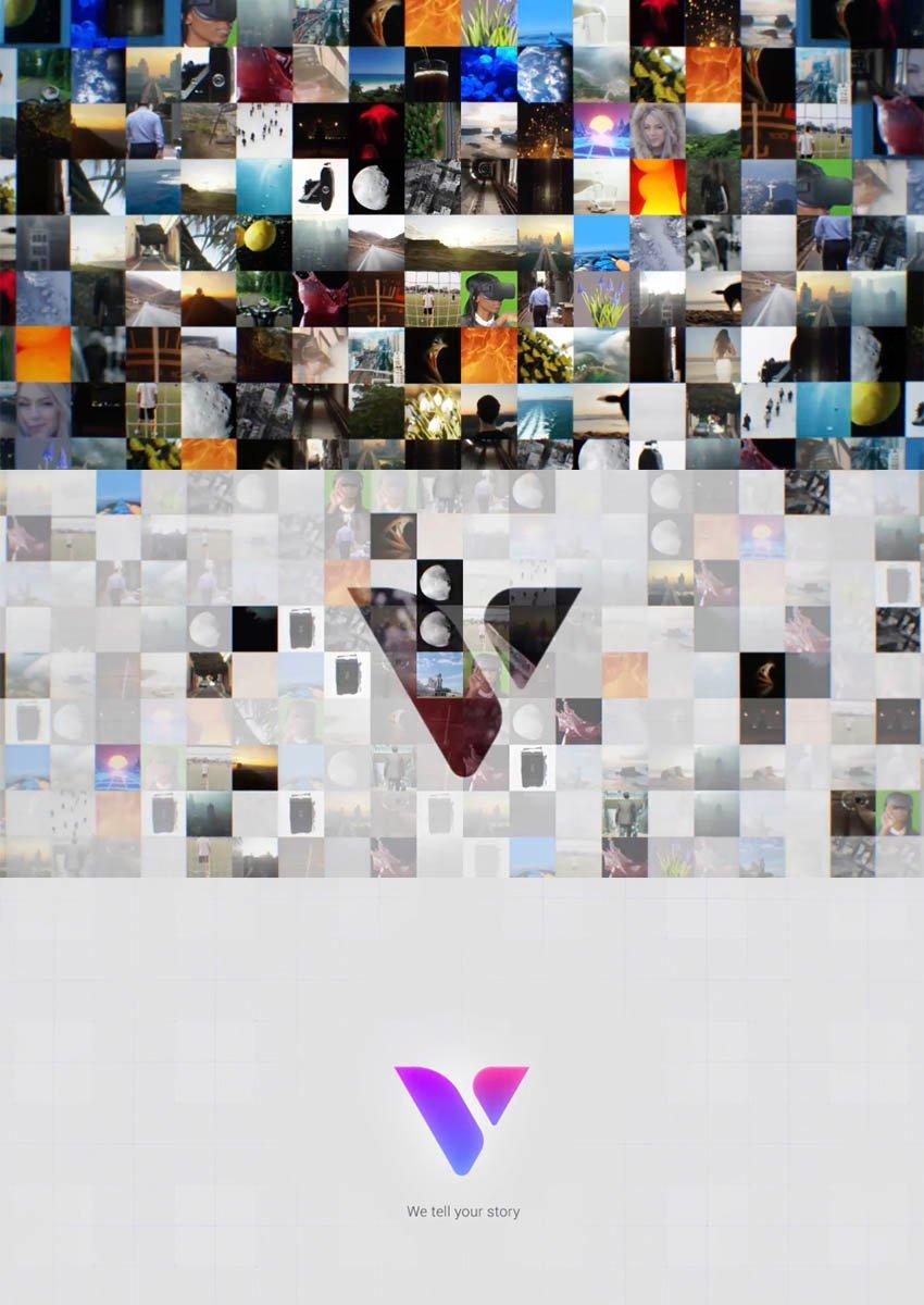Mosaic Photos  Videos Logo Reveal