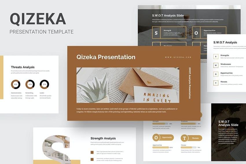 Qizeka SWOT Analysis Powerpoint