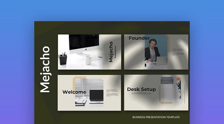 Mejacho - Multipurpose Keynote Presentation