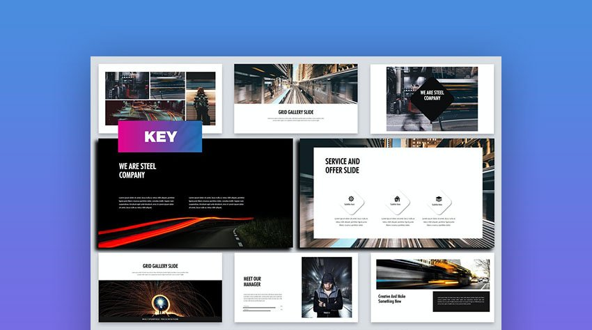 Steel - Business Keynote Template