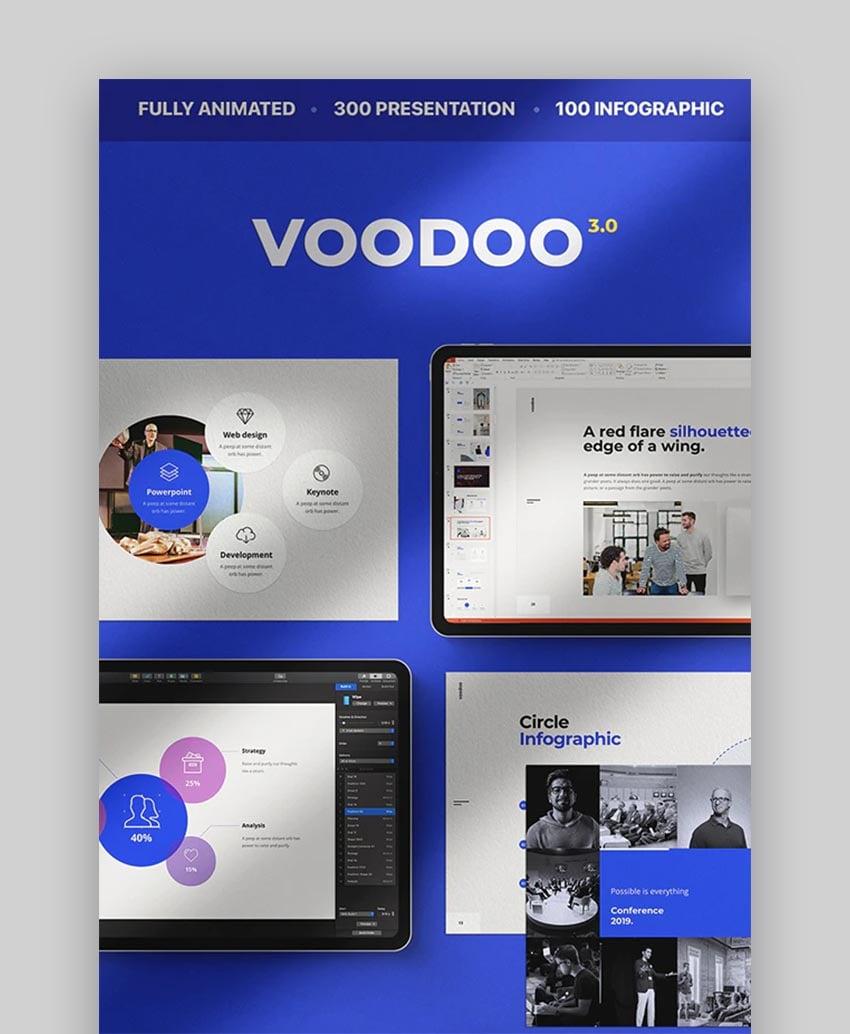 Voodoo-Keynote-Vorlage