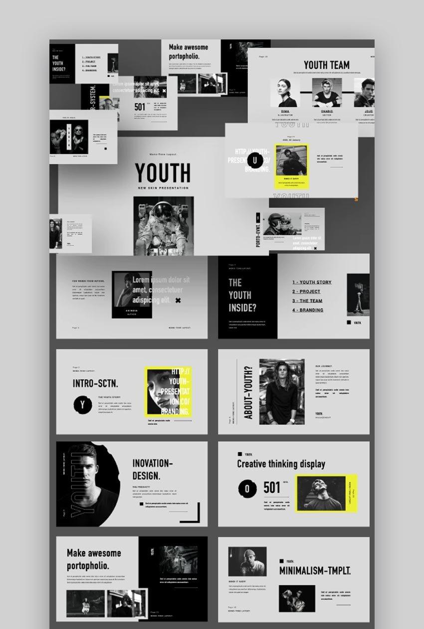 Jugend Minimal Creative Keynote