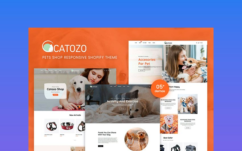 Catozo - Shopify Pet Responsive Theme