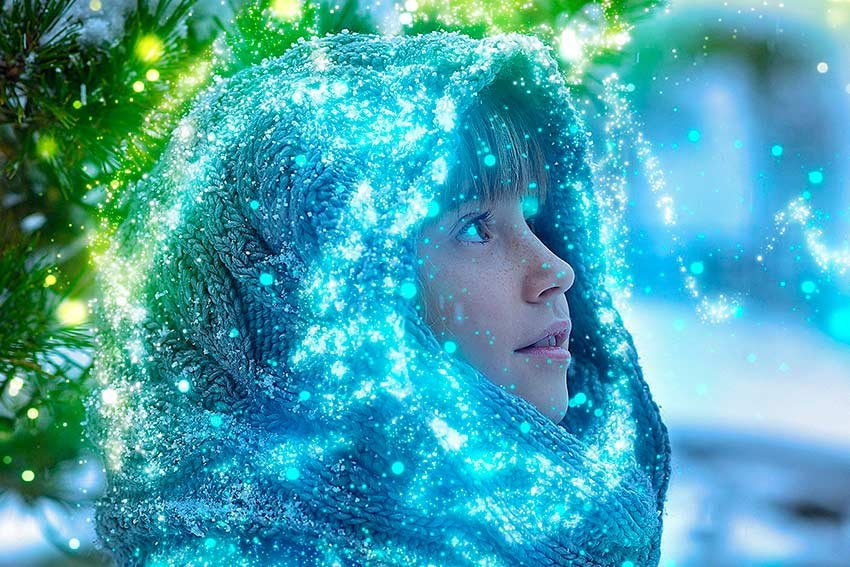 Get this amazing sparkle visual effects using this sparkle Photoshop action.