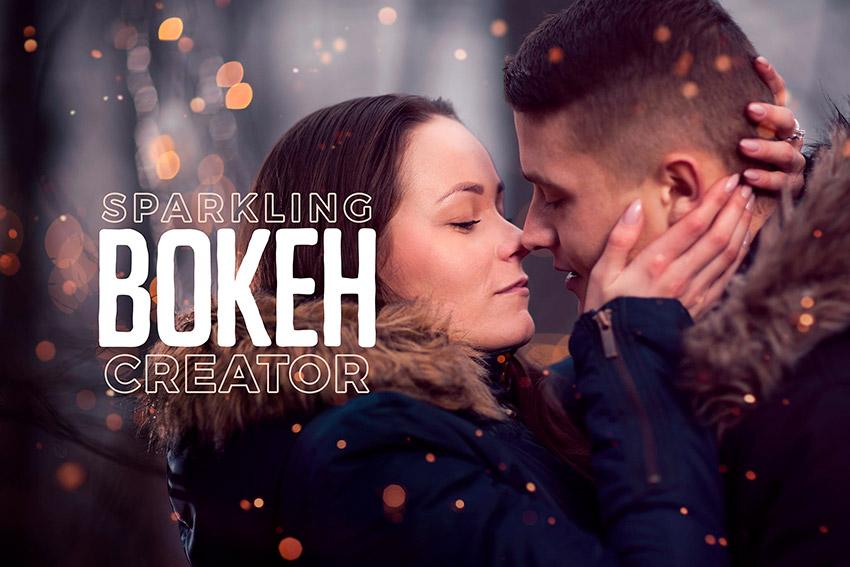 Sparkling Bokeh Overlays Creator
