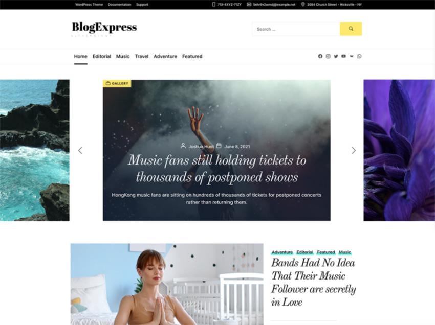 https://wordpress.org/themes/blogexpress/