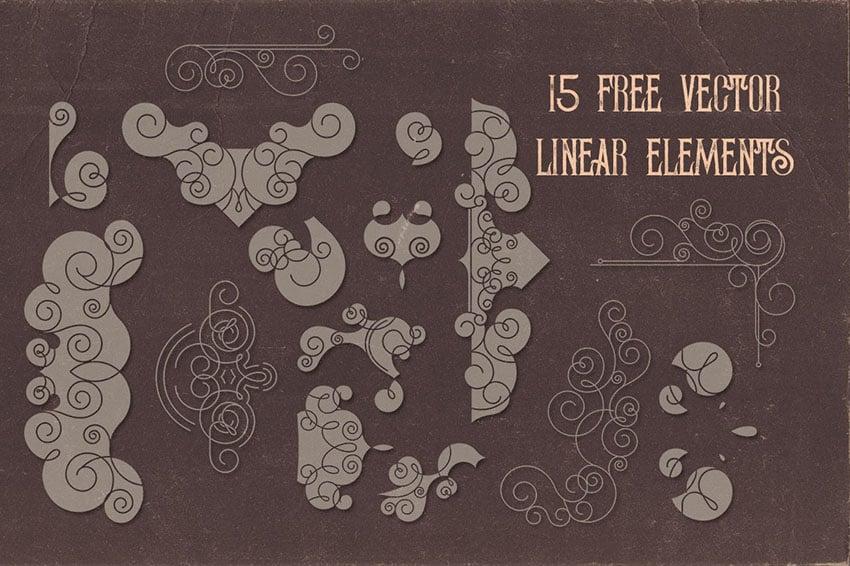 Linear Free Flourishes