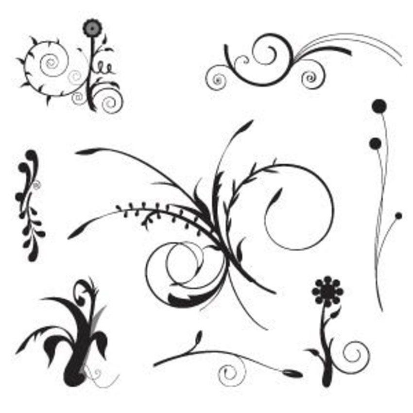 Floral Vintage Vector Free