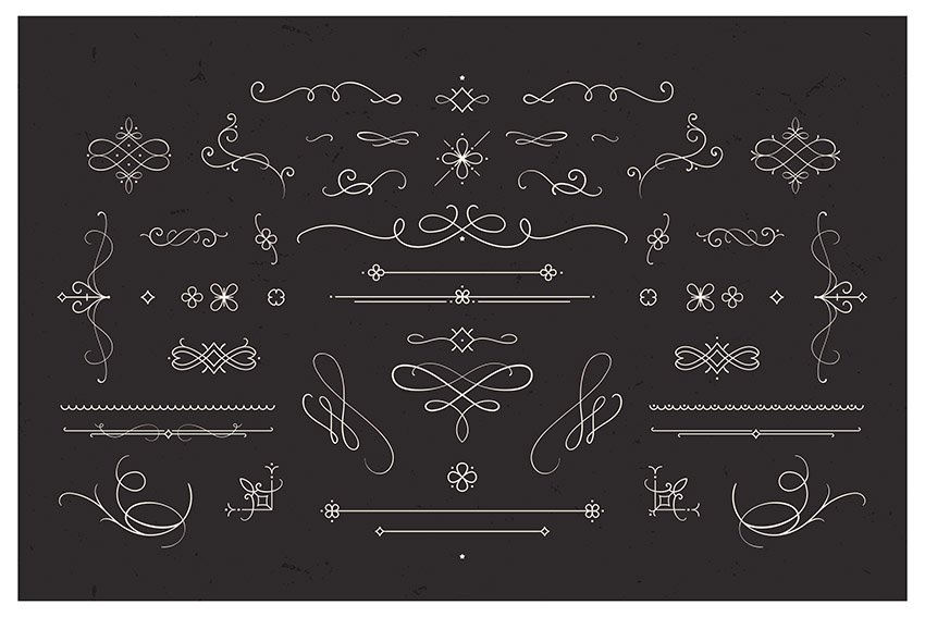 Vintage Flourishes and Dividers