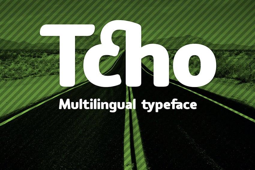 Tcho Arabic Font Style Download