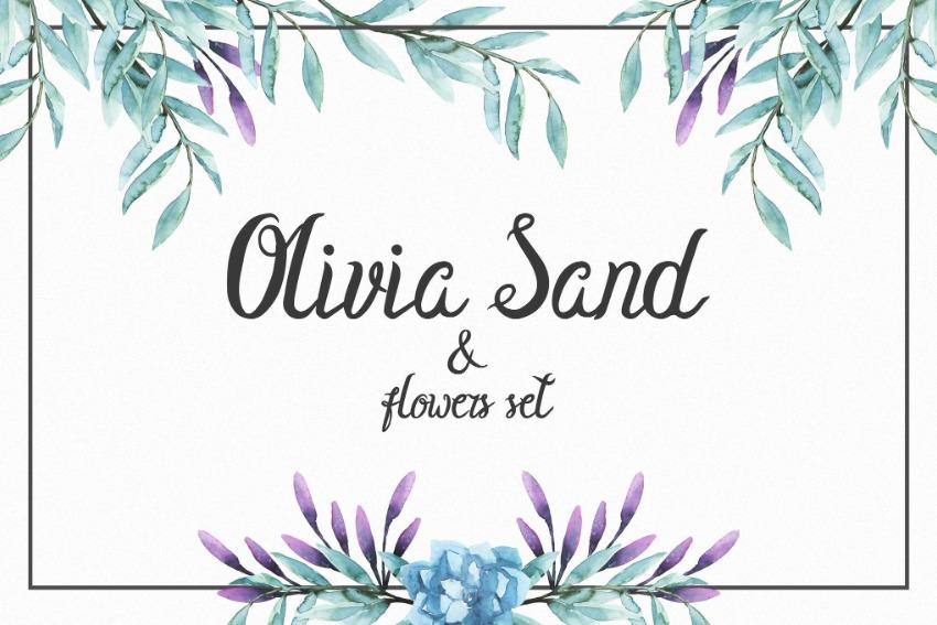 Olivia Sand Best Cursive Signature Font