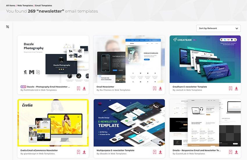 Best Marketing Newsletter Ideas on Envato Elements for 2021