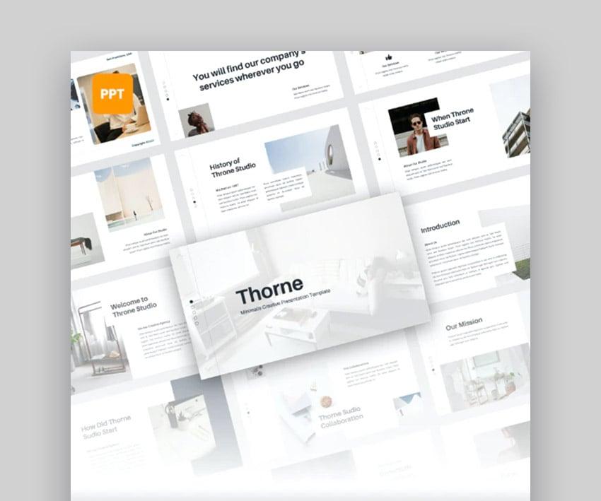 Thorne Simple PowerPoint Design