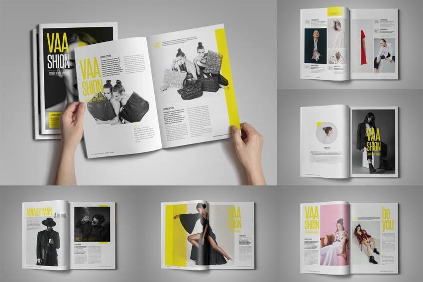 Fashion Design Magazine InDesign Template