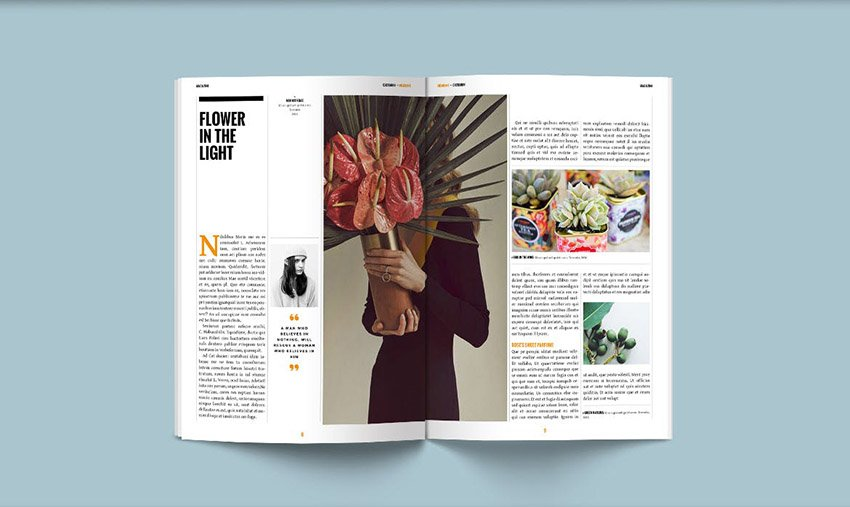 Creative Page Layout Design