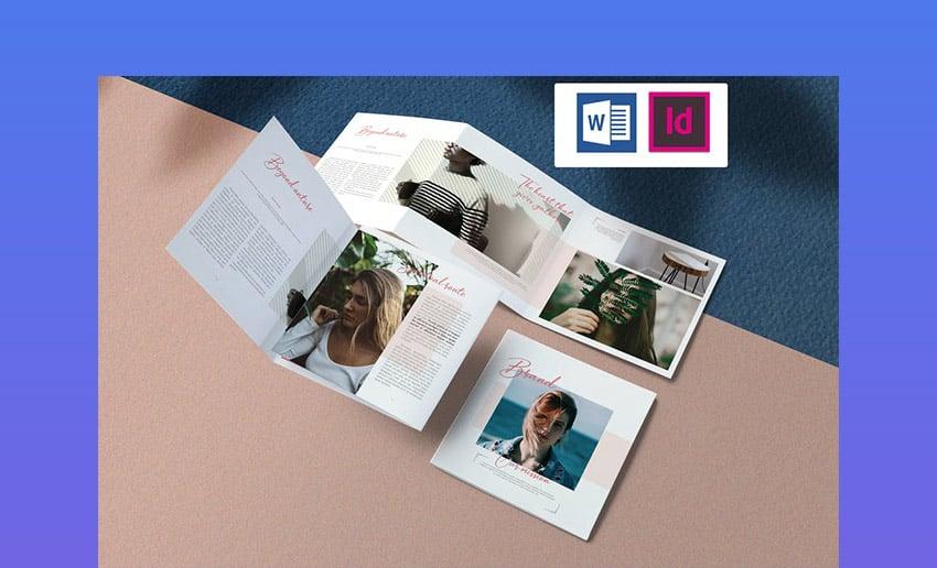Delicate Brochure Template InDesign