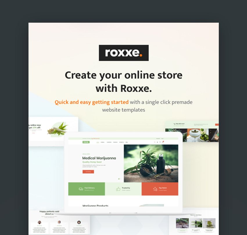 Roxxe Shopify eCommerce Template Download
