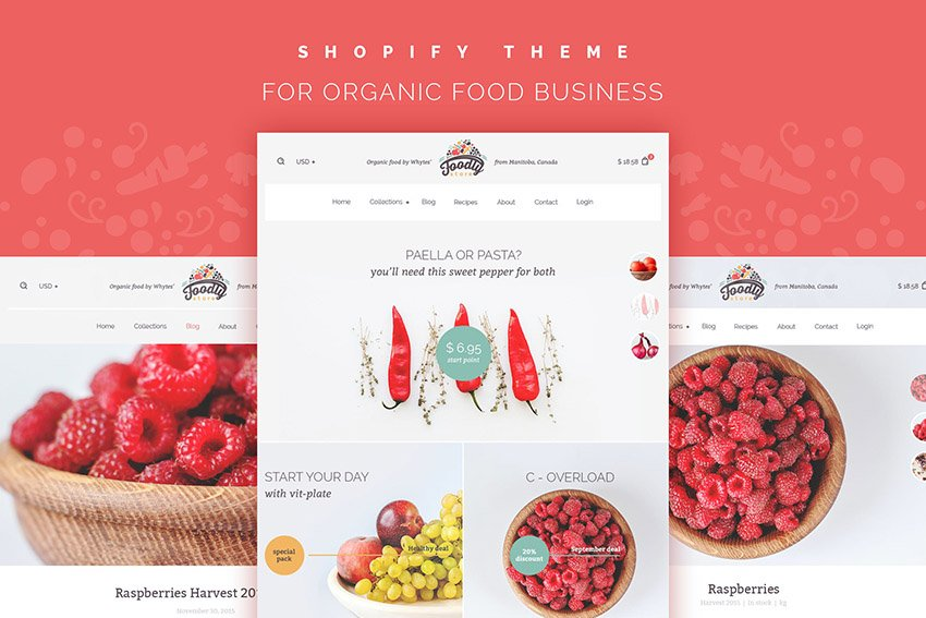 Foodly Shopify Best Themes