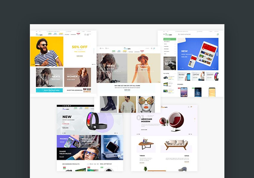 Goodwin Shopify Website Theme Download