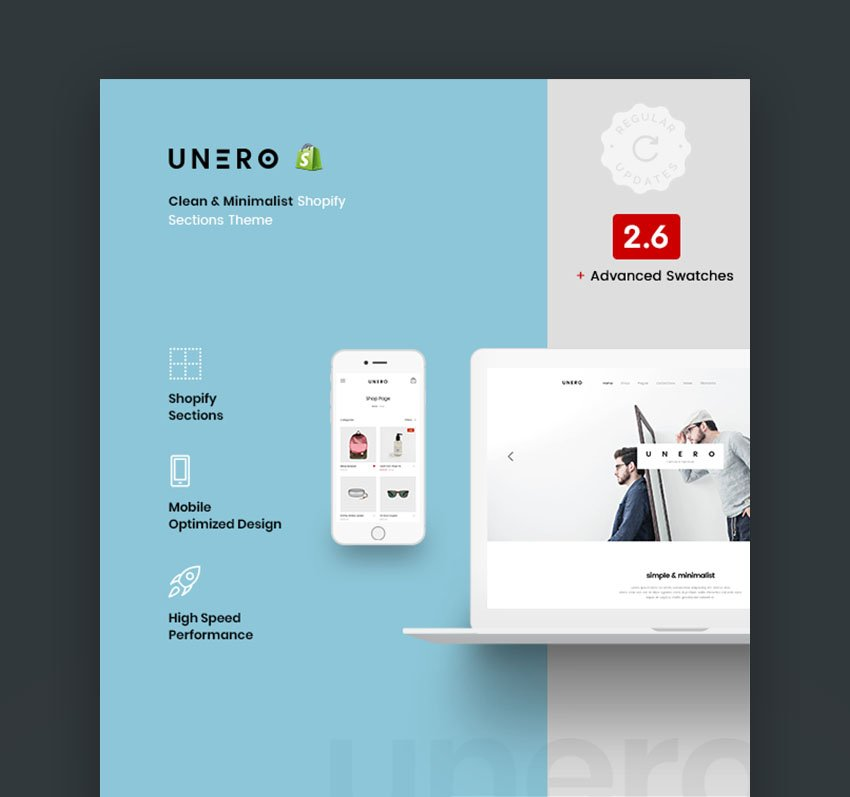 Unero Best Shopify Themes for ECommerce