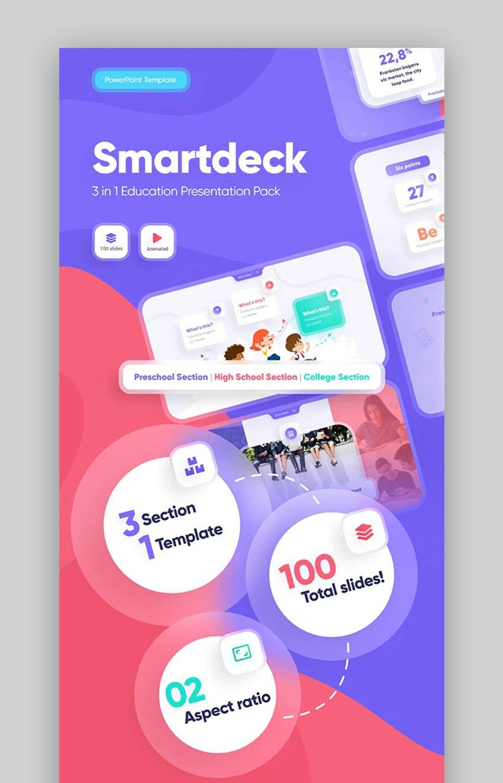SmartDeck Creative Powerpoint Presentation Design