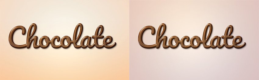 Chocolate Cool Text Effects Photoshop