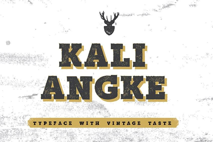Mutiara Vintage Serif Font