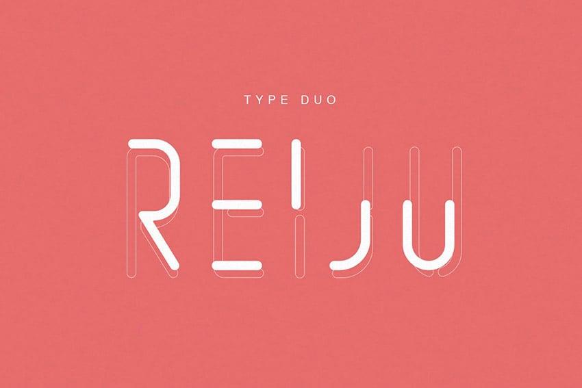 Reiju Decorative Font Types