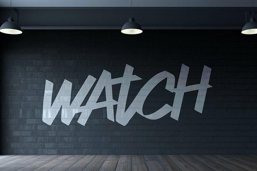 Watch Bold Script Font