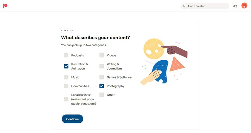 How Do I Start a Patreon Tutorial Content Categories