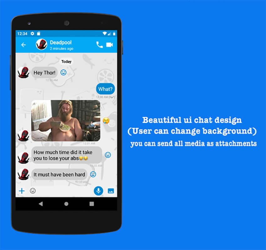 Plax App Android Firebase Chat