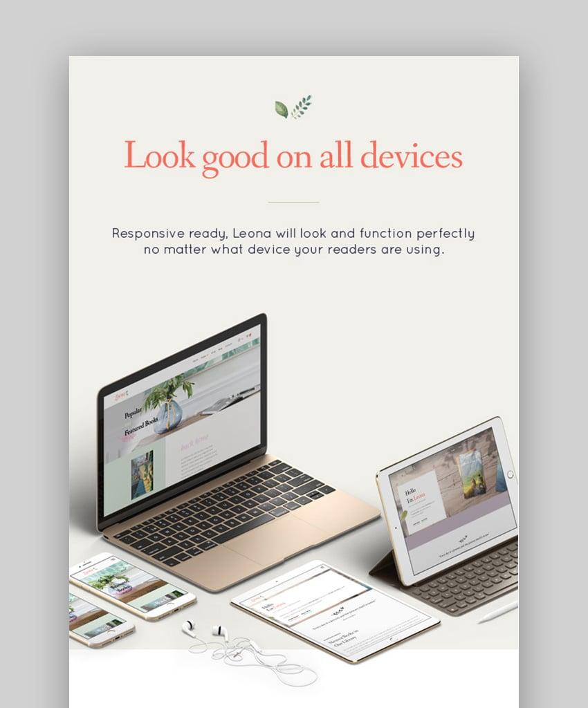 Leona WordPress Book Selling Theme