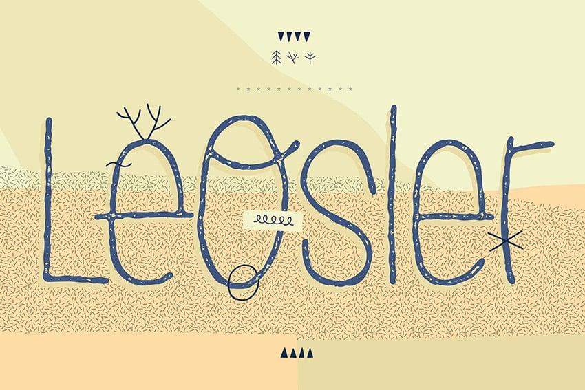 LeOsler Handwritten Script Font