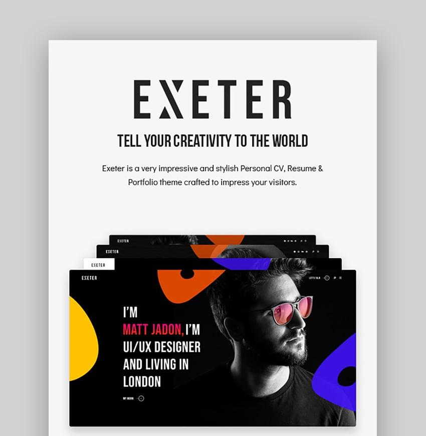 Exeter Inspiration WordPress Theme