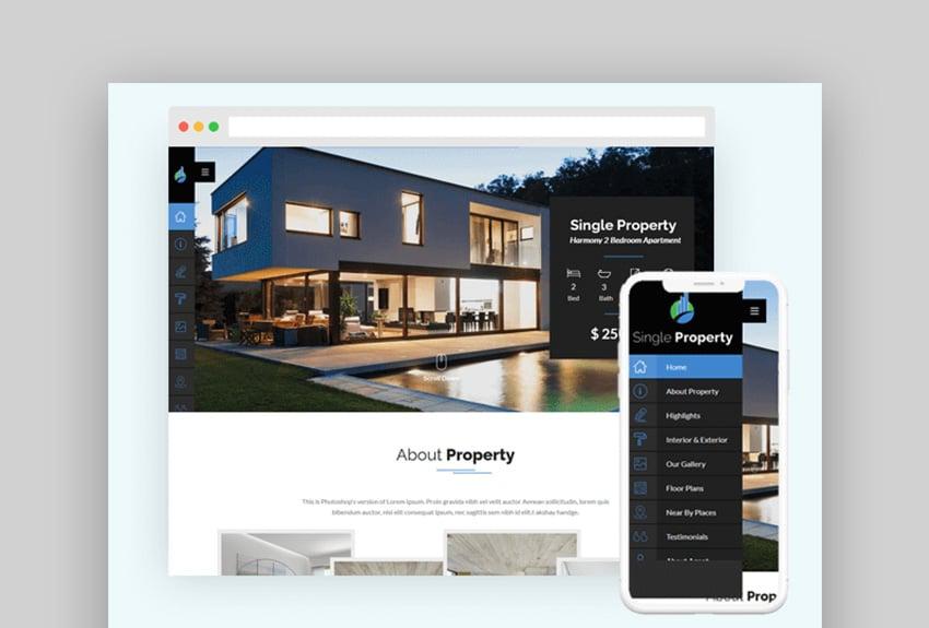 PatelProperty Real Estate WordPress Theme