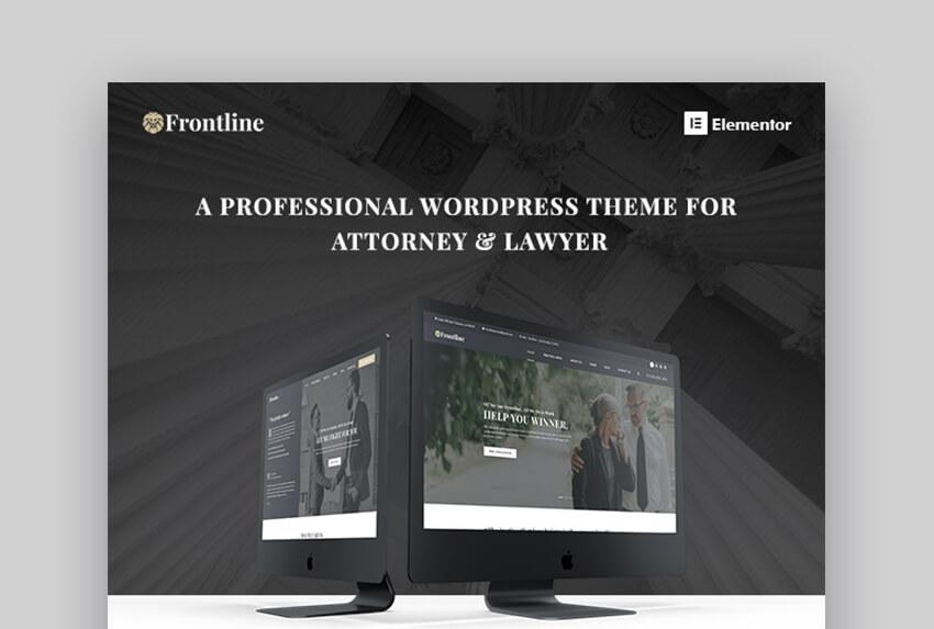 Frontline Lawyer WP Theme