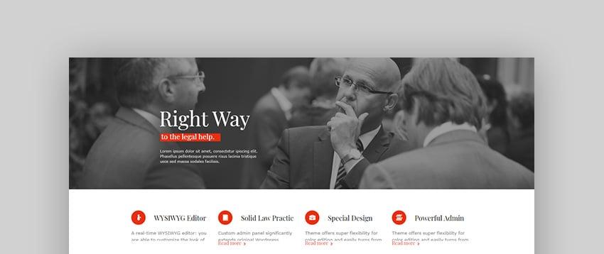 LawBusiness Lawyer WordPress Theme