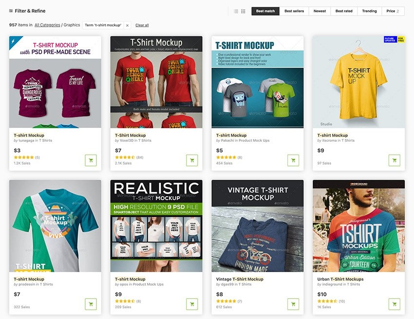 Clothing Design Templates From GraphicRiver