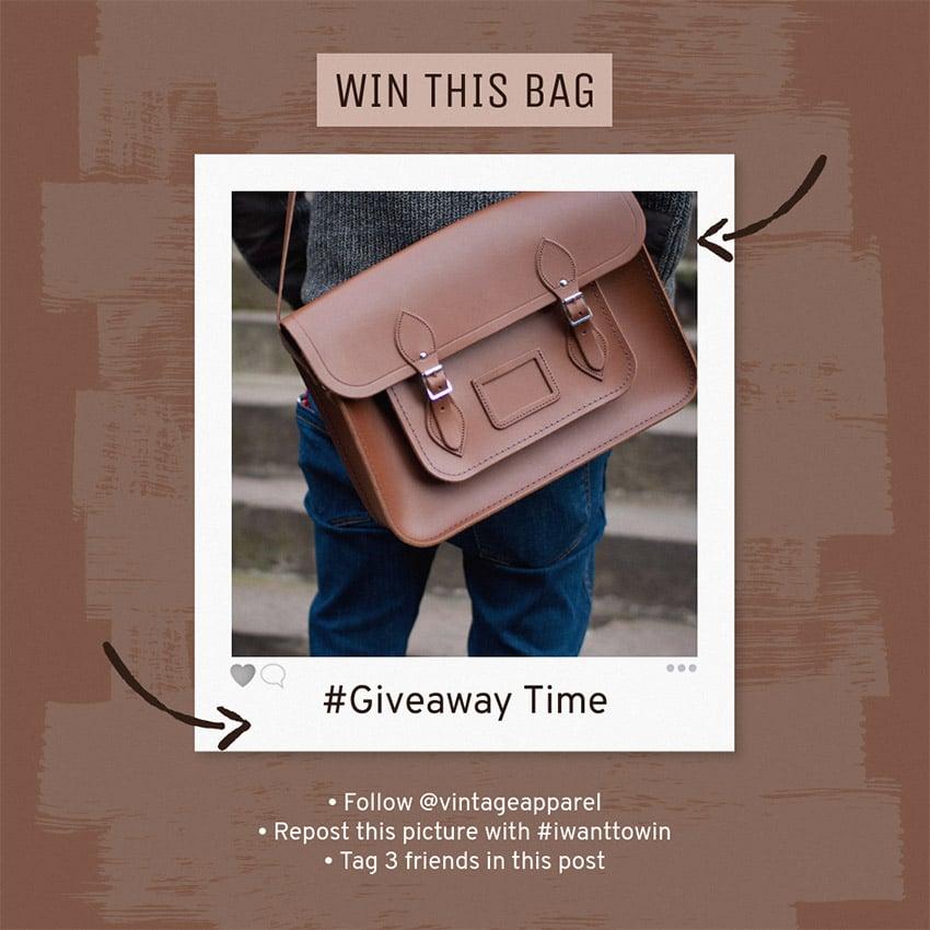 Instagram Post Image Maker for Giveaway