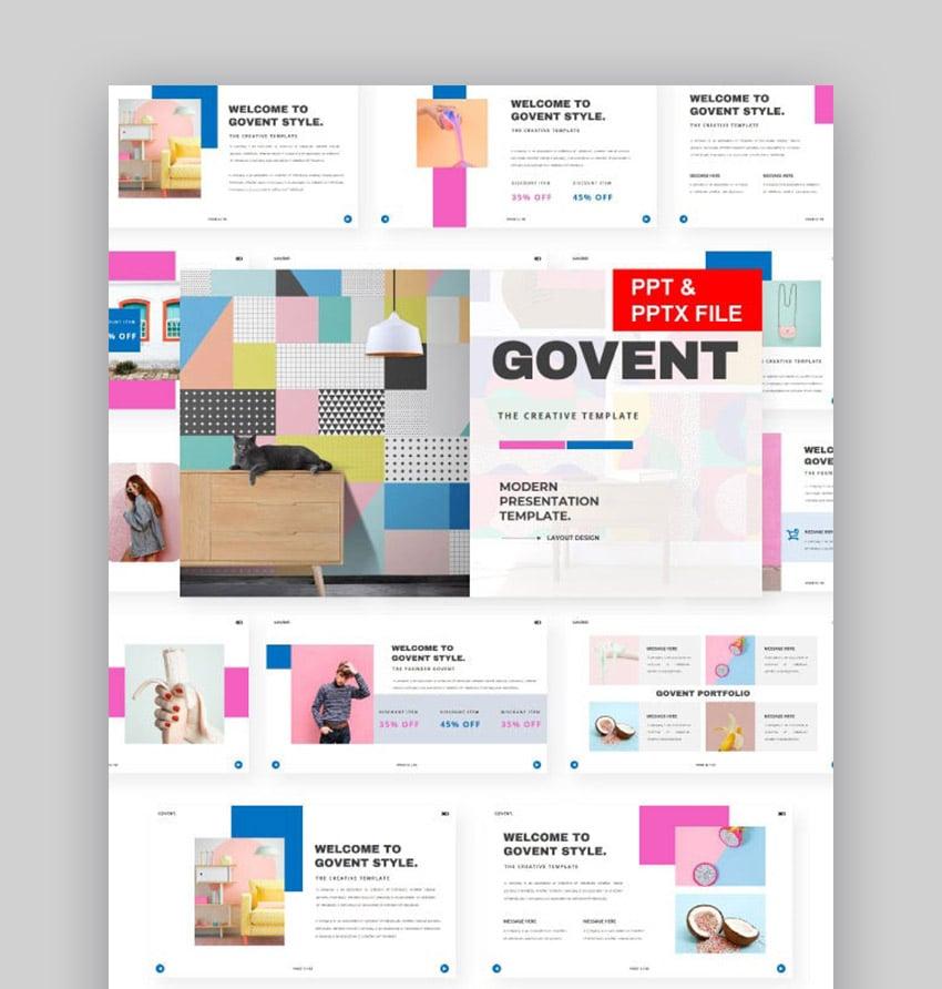 Govent Slide Presentation Design