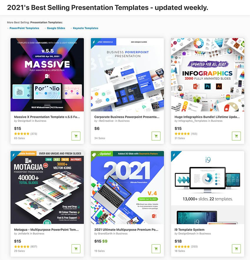 Best Presentation Slides Designs GraphicRiver