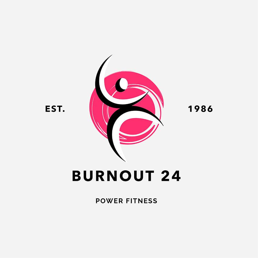 Health and Wellness Training Centers Fitness Logo Maker