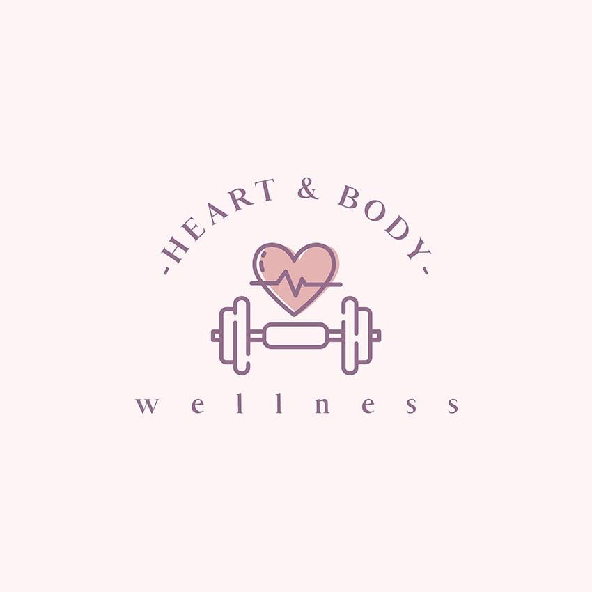 Fitness and Wellness Logo Creator