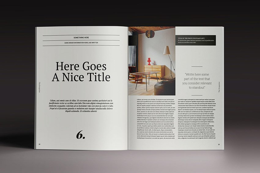 Brogazine Online Magazine Template