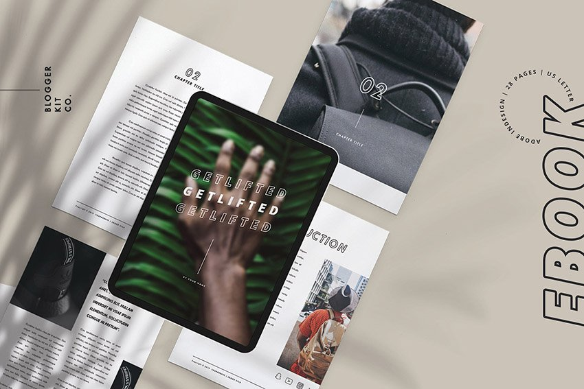 Electronic Book Template Download