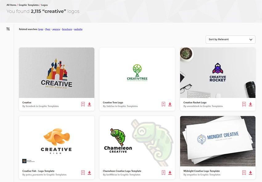 Creative Logo Design Ideas Inspiration on Envato Elements